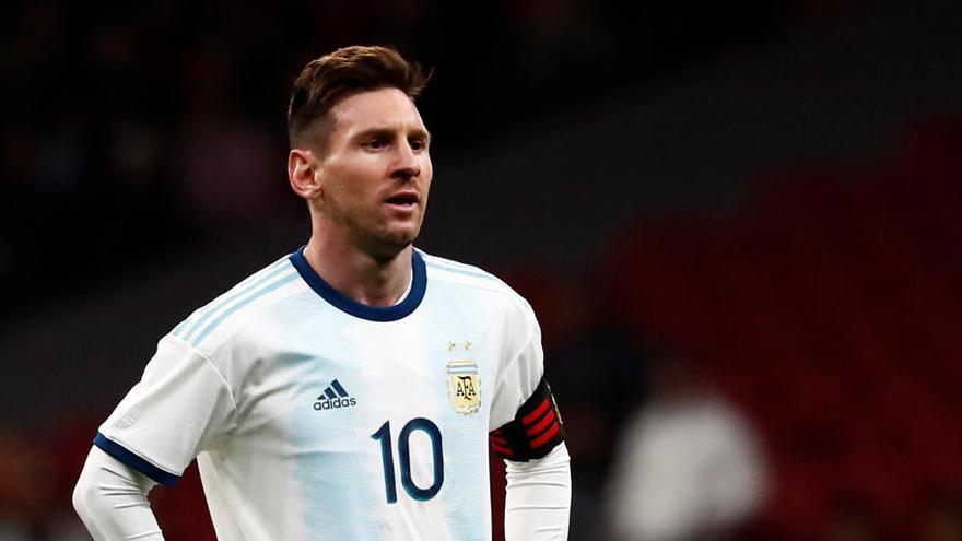 Messi lidera a una Argentina muy mermada por las bajas