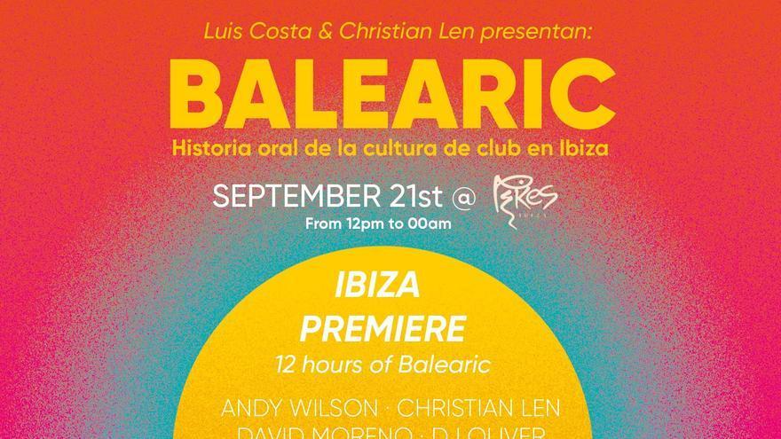 Aplazada la presentación del libro 'Balearic' en Ibiza