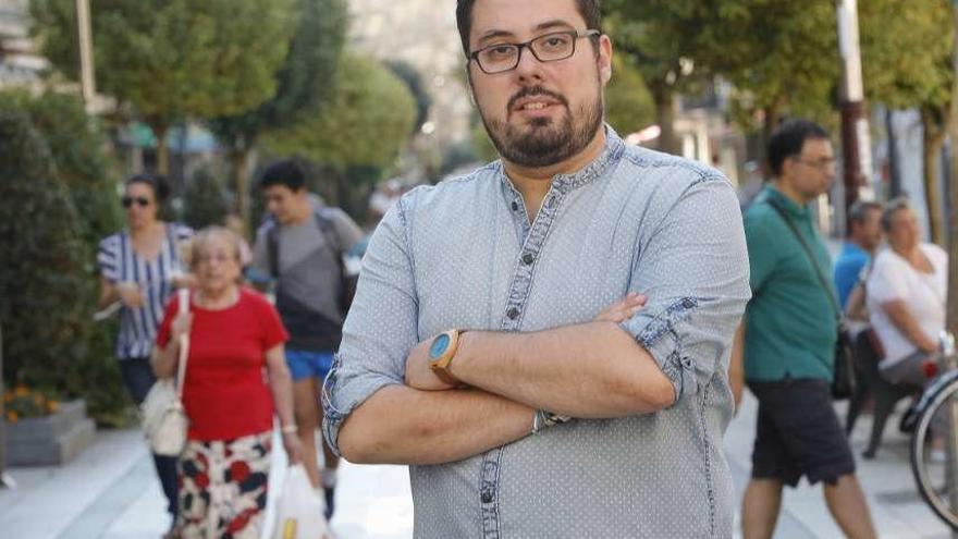 """Xabier Pérez Igrexas """"En el BNG estamos dispuestos a escuchar, fue el mensaje que nos envió la ciudad hace cuatro años"""""""