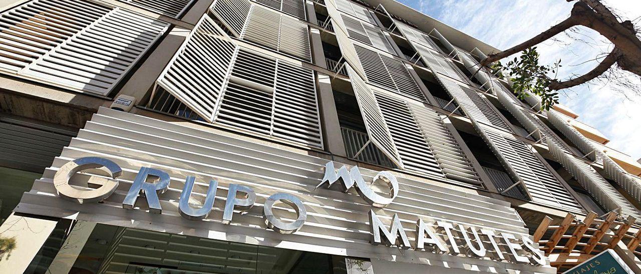 Imagen de archivo de la fachada de las oficinas del Grupo Matutes.