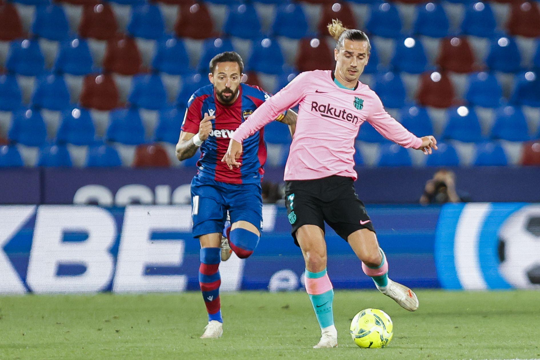 Levante UD 3 - FC Barcelona 3