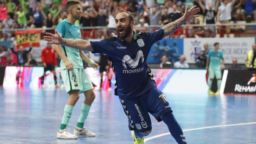 Ricardinho hace campeón de Liga  al Inter Movistar