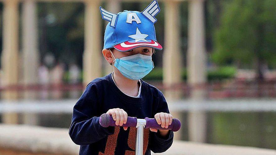 Los niños solo tienen síntomas de coronavirus durante cinco días