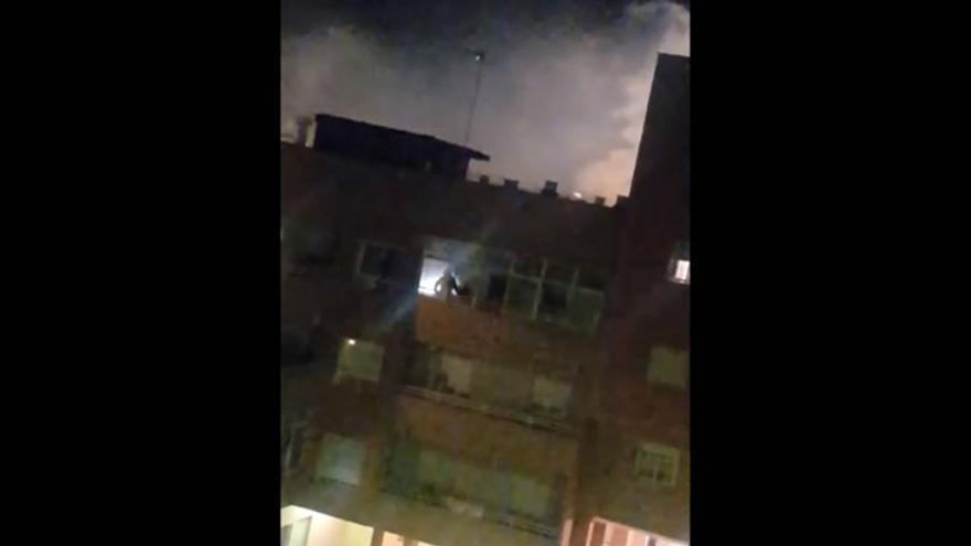 Incendio en una vivienda de Almendralejo