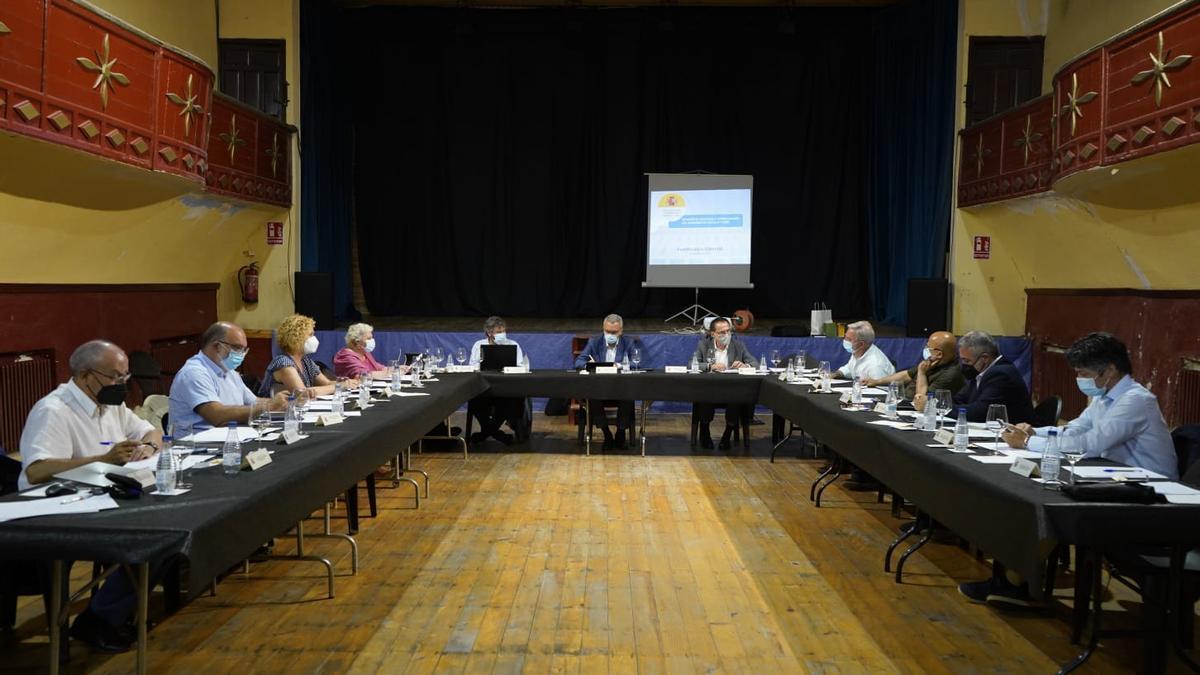 Reunión en Fuentesaúco de los subdelegados del Gobierno de Castilla y León.