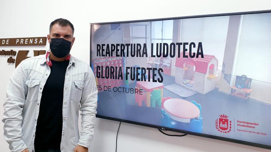 La ludoteca infantil Gloria Fuertes abre sus puertas en Elda