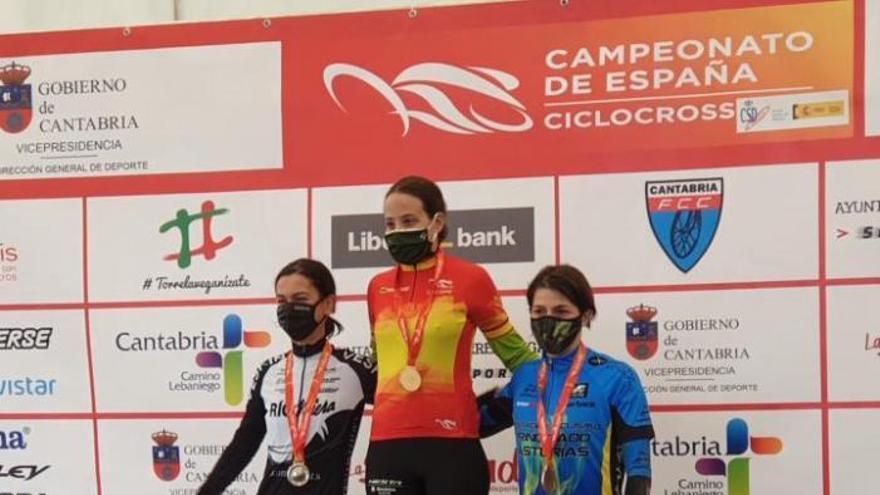 Lucía, Lydia, Aida y Sara: las asturianas que son la envidia nacional en ciclocross