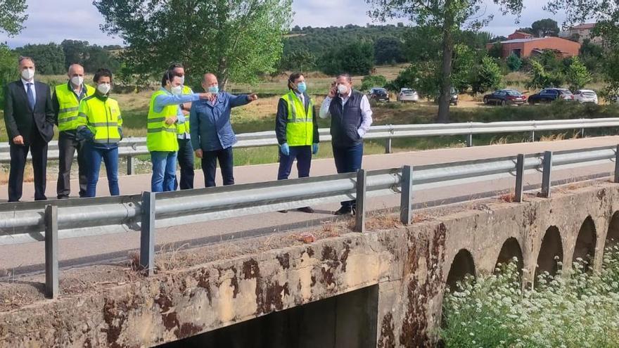 Comienza la construcción del nuevo puente de Domez