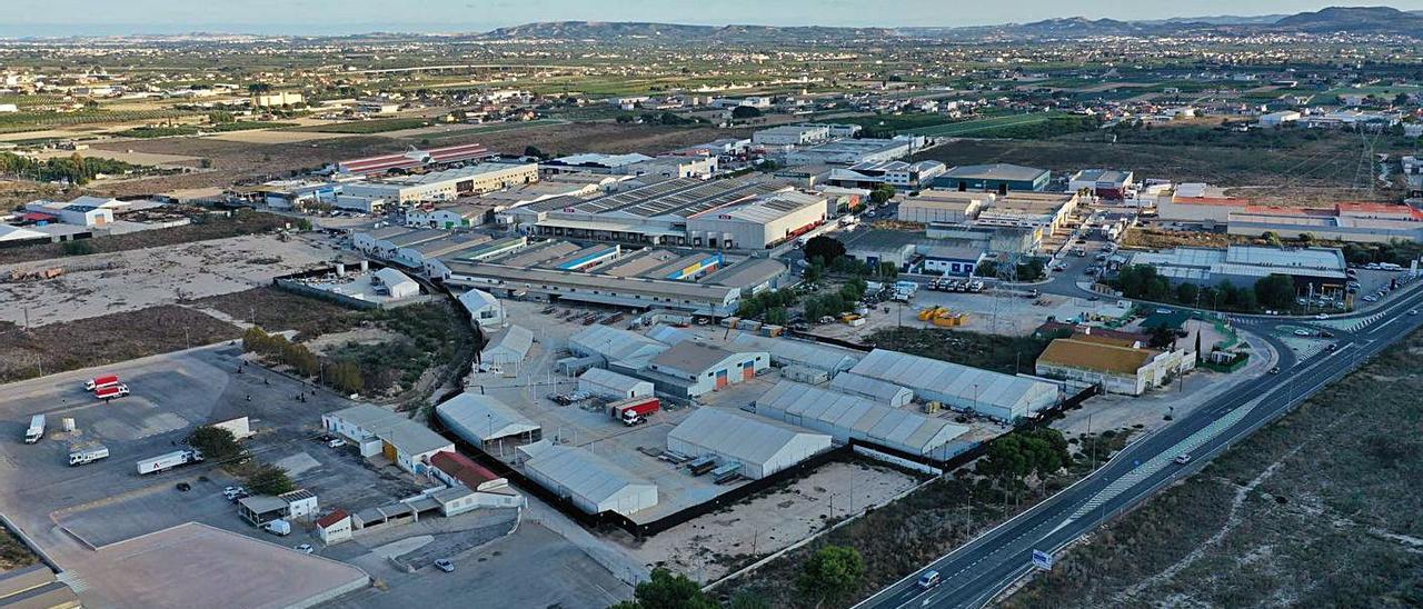 Vista general del polígono industrial Puente Alto de Orihuela.  | INFORMACIÓN