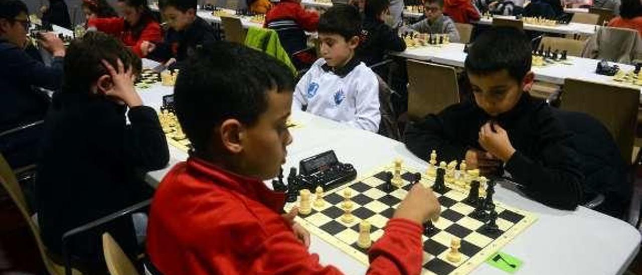 Las partidas se desarrollaron todo el sábado y domingo. // Noé Parga