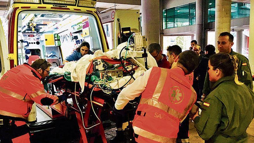 Wie eine Spezialeinheit durch Krankentransporte Kinder rettet
