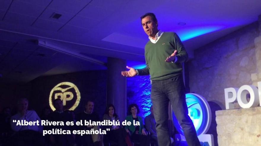 """El """"repaso"""" de Fernando Martinez-Maíllo a los partidos rivales"""