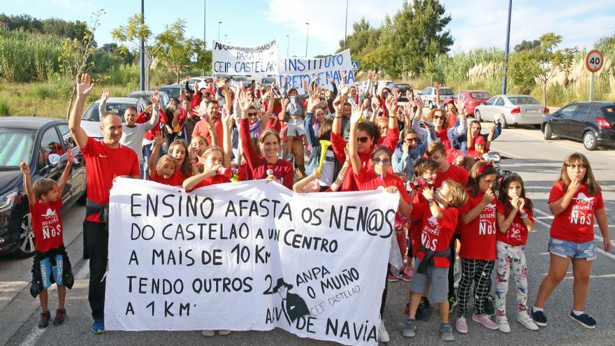 El PSdeG reclama un convenio para la construcción del IES de Navia