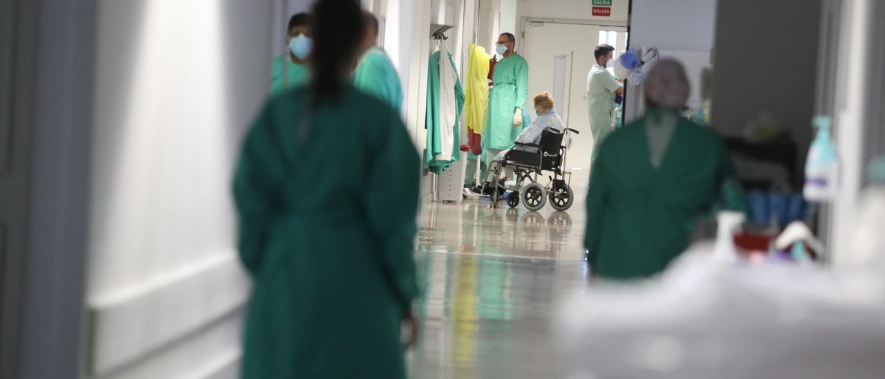Los hospitales de la provincia vuelven a llenarse de pacientes covid en la quinta ola de la pandemia.