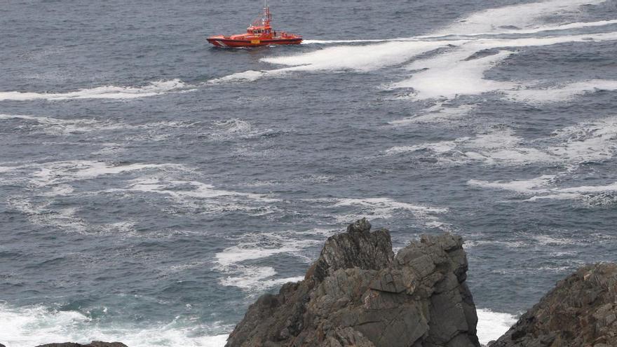 Retoman la búsqueda del pescador asturiano desaparecido en Coruña