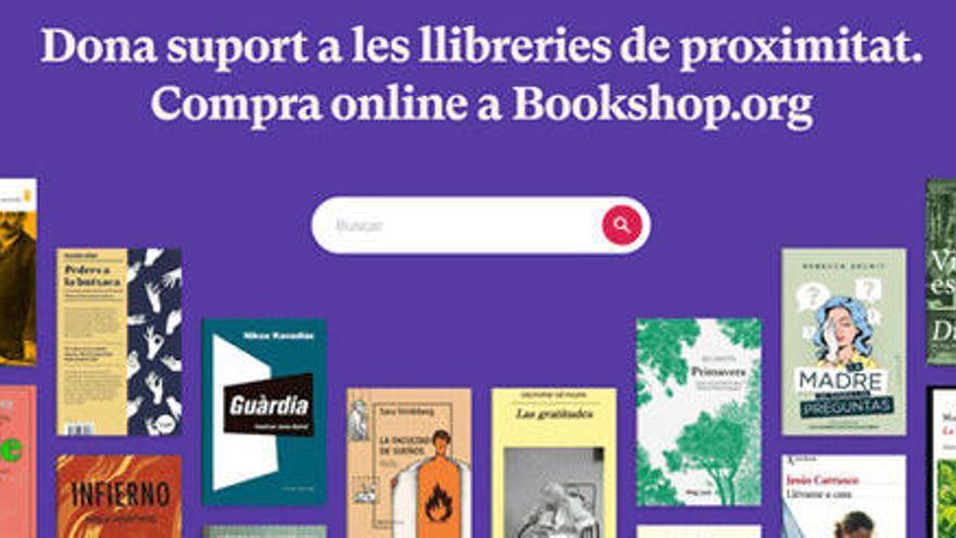 Bookshop.org obre la seva plataforma en línia amb l'objectiu de donar suport a les llibreries de proximitat