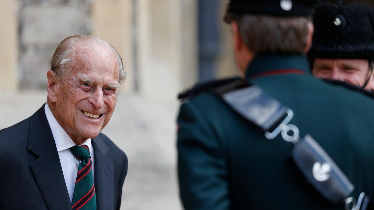 Una imagen del duque de Edimburgo.