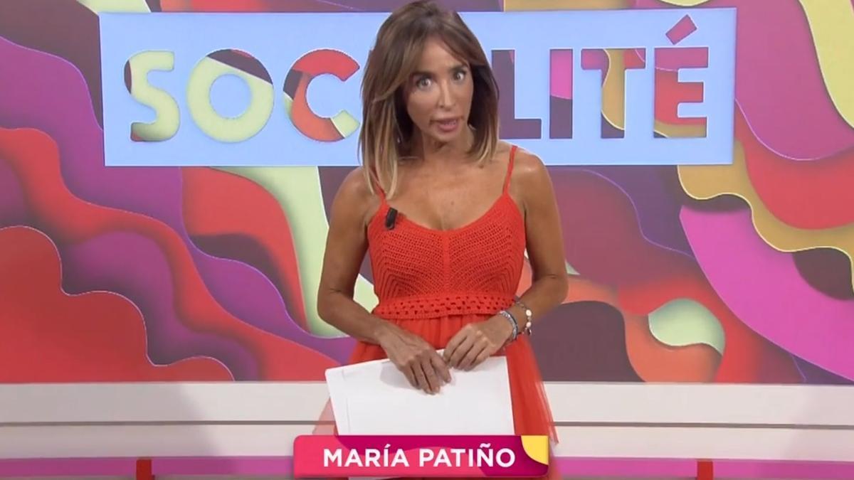 María Patiño en Socialité.