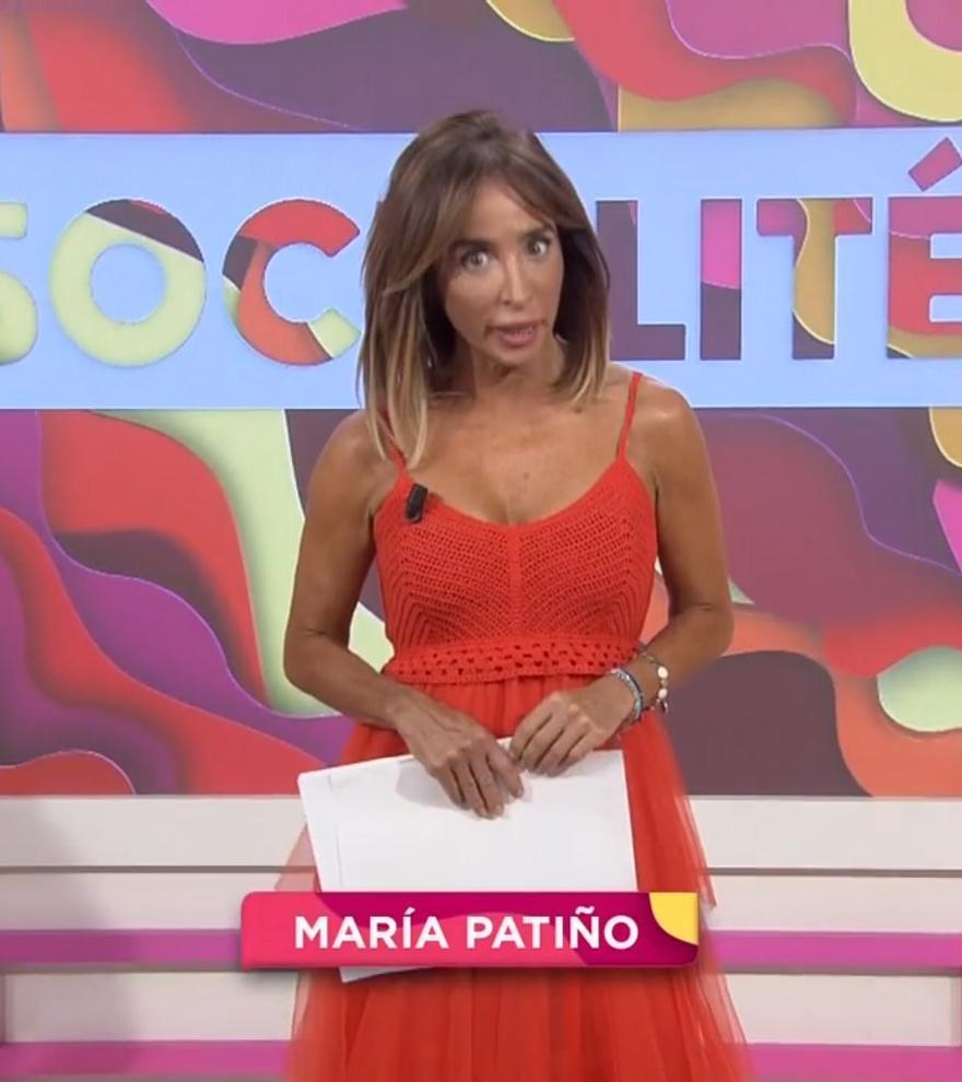 """María Patiño deja de presentar Socialité (y su recambio no es Nuria Marín): """"Mil veces mejor"""""""