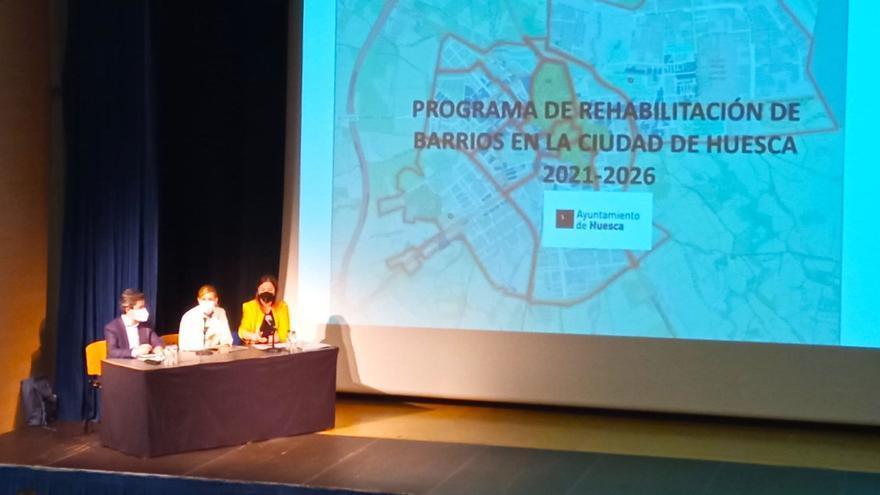 El Ayuntamiento de Huesca contempla la rehabilitación de más de 7.860 viviendas