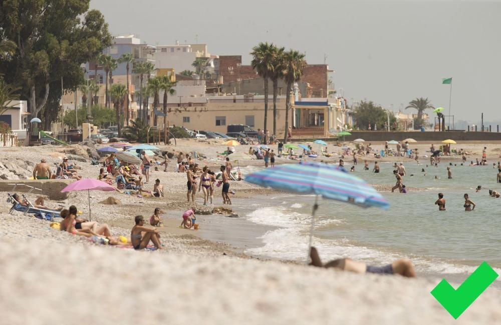 Playa Les Marines. Nules.