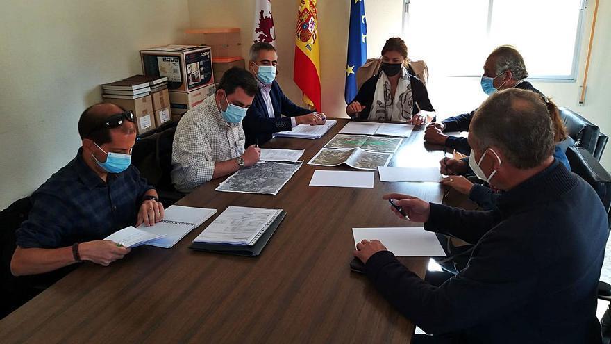 La Junta emprende la restauración forestal de los terrenos quemados en el incendio de Lober