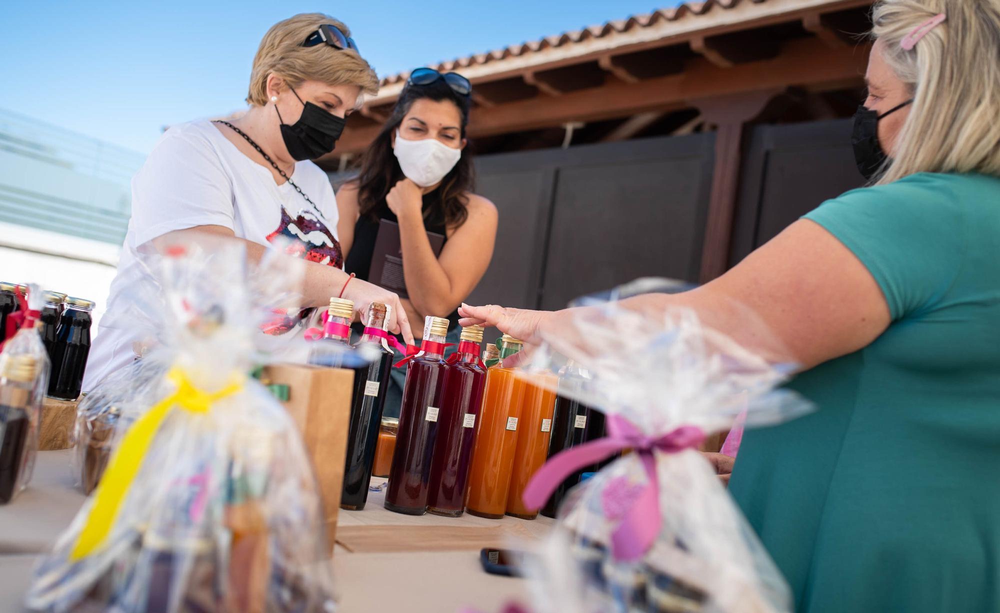 Feria de artesanía en Tegueste
