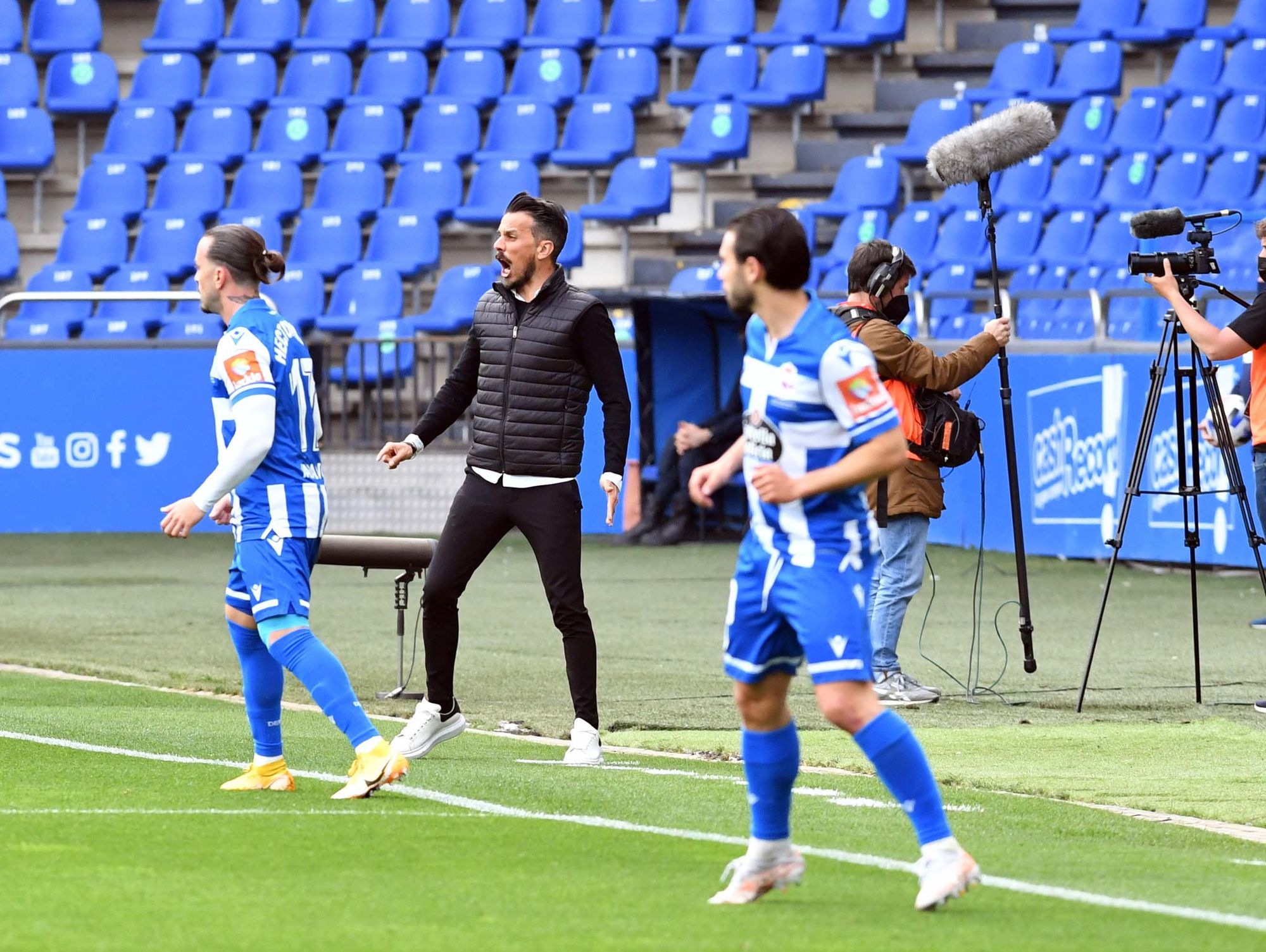 El Deportivo le gana 2-1 al Numancia