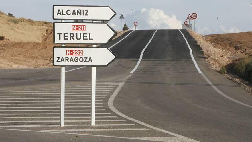 Aprobado el proyecto para rehabilitar el firme de la N-211 entre Castel de Cabra y Alcorisa