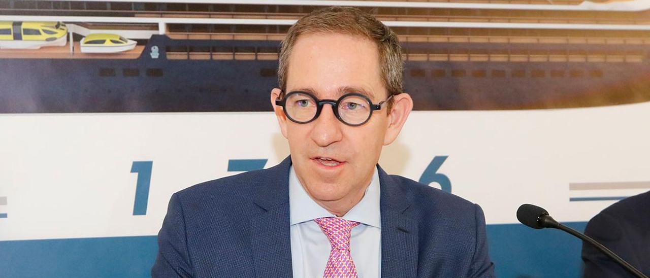 Douglas Prothero, consejero delegado de Cruise Yacht