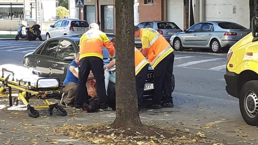 Un home, ferit per una agressió a Olot
