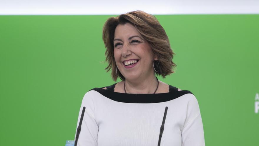 Susana Díaz anuncia que se presenta a las primarias para volver a ser candidata en Andalucía
