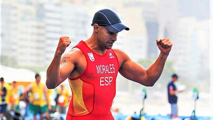 Lionel Morales busca en las Series Mundiales su plaza para los Paralímpicos