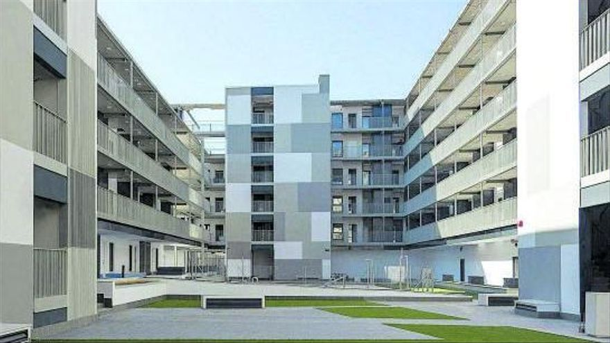 Ejemplo de vivienda industrializada del Grupo Avintia |          Activos