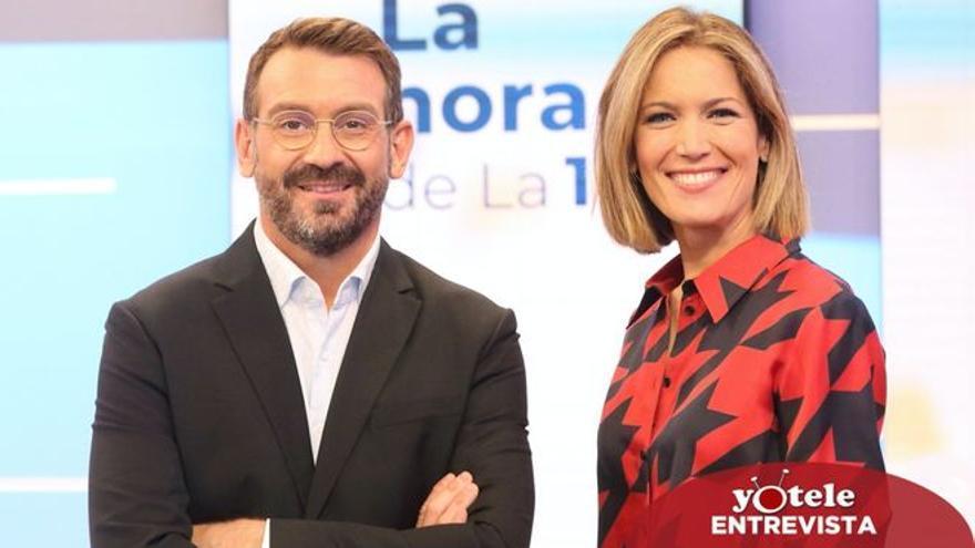 """Silvia Itxaurrondo y Marc Sala: """"Me gustaría pedir se viese 'La hora de La 1' como un programa que empieza desde cero"""""""