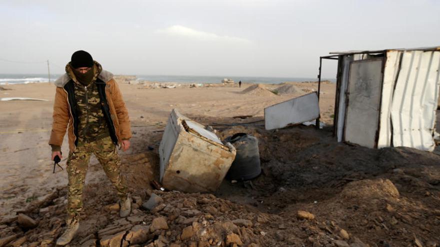 Israel ataca posiciones de Hamás en Gaza en respuesta al disparo de un proyectil