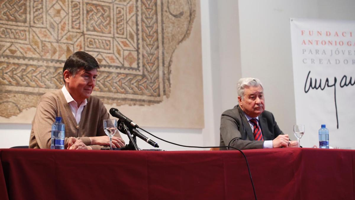 Manuel Pimentel y Francisco Moreno.