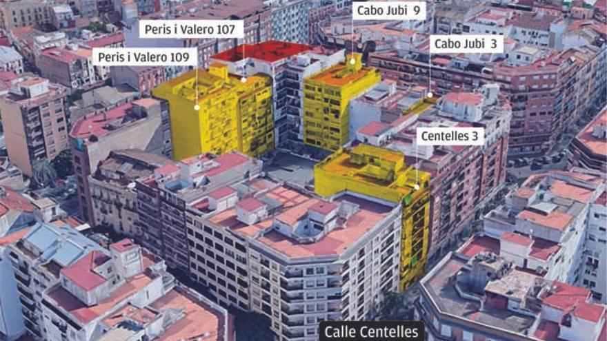 Un ladrón desvalija toda una manzana en Valencia tras espiar a los vecinos desde su piso okupa