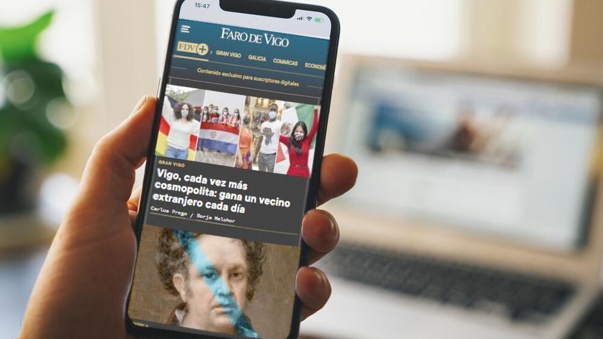 Aprovecha: consigue por menos de tres euros al mes el acceso a todo el contenido premium de FARO DE VIGO