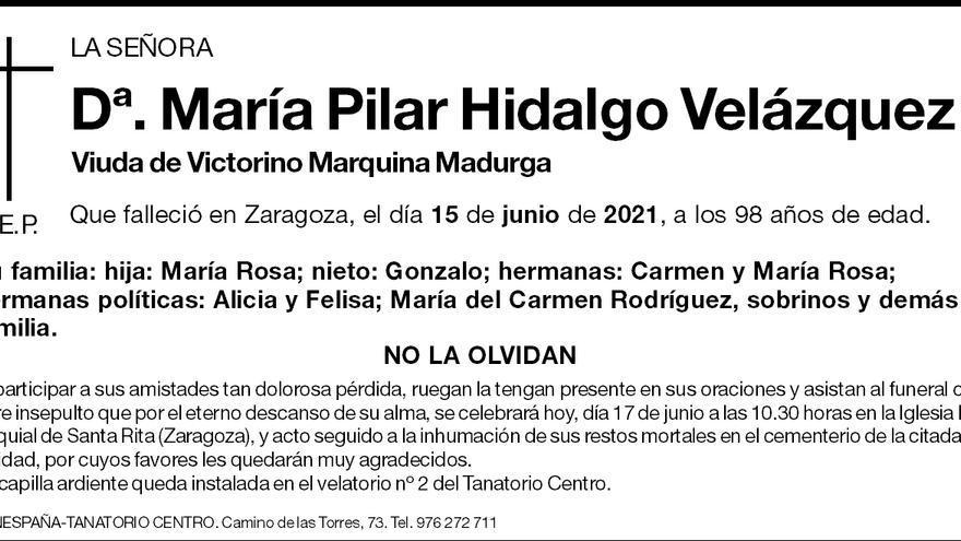 María Pilar Hidalgo Velázquez