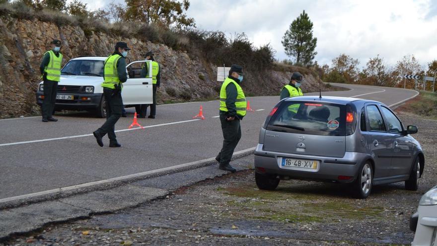 Policía y Guardia Civil impiden el paso de 989 personas por la frontera de Zamora desde el mes de febrero