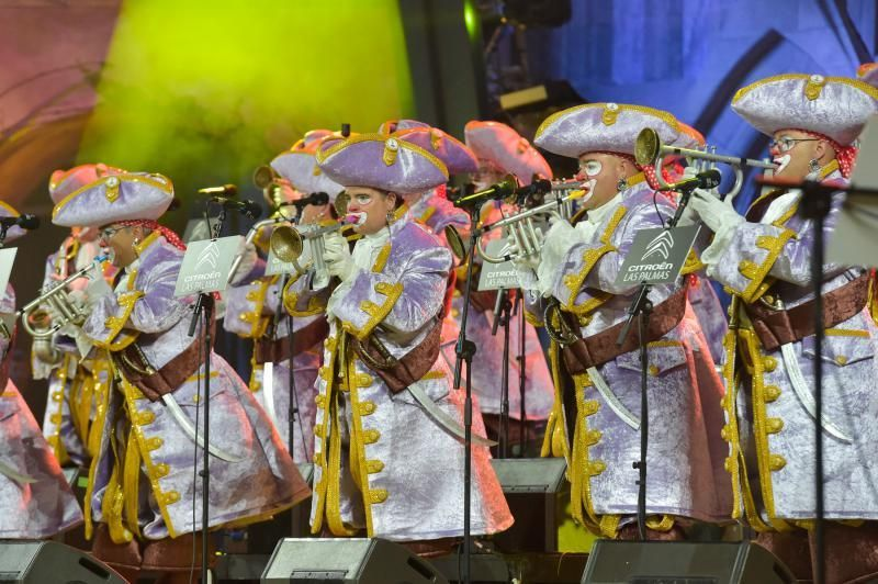 15-02-2020 LAS PALMAS DE GRAN CANARIA. Carnaval: Final del Concurso de Murgas de Las Palmas de Gran Canaria  | 15/02/2020 | Fotógrafo: Andrés Cruz
