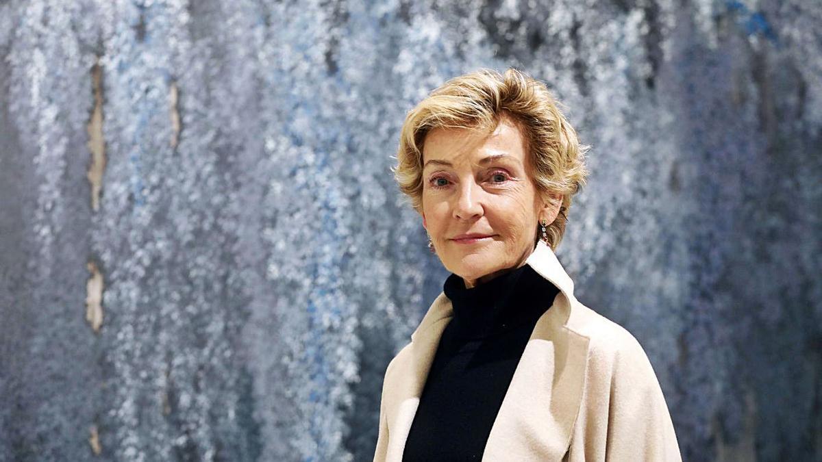 Soledad Sevilla (València, 1944) en Bancaja.   M.A.MONTESINOS