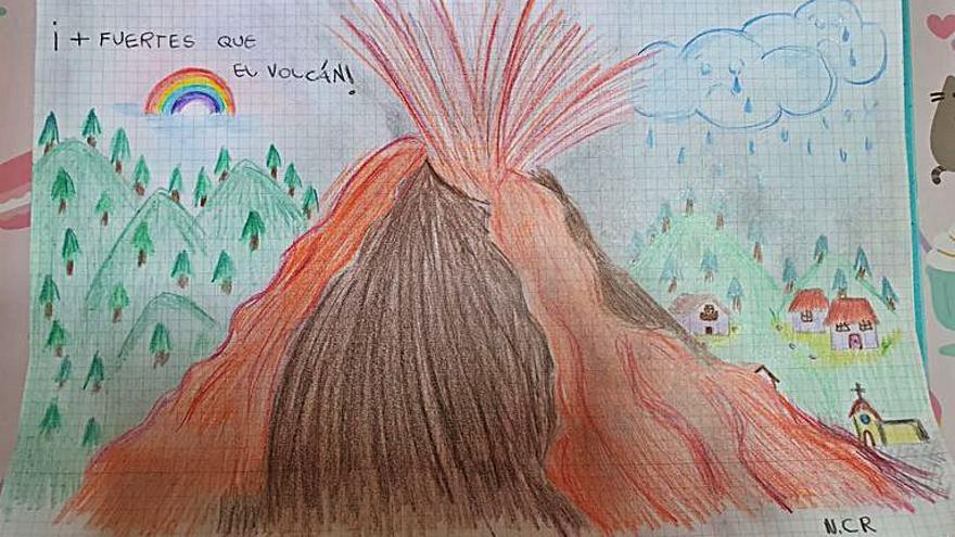 La inocencia retrata la furia del volcán de La Palma