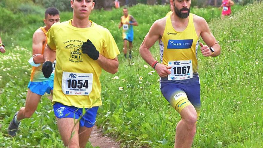Aníbal López y Estela Guerra, vencedores absolutos del primer cross de la temporada