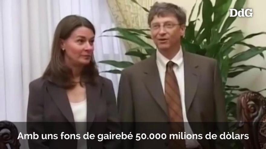 Bill i Melinda Gates se separen després de 27 anys de matrimoni