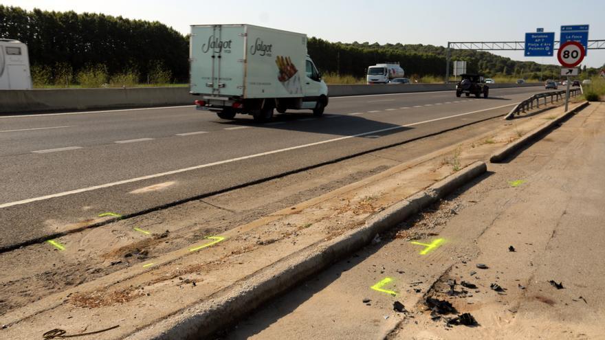 Mor una jove de 19 anys de la Seu d'Urgell en un accident amb motocicleta a Palamós