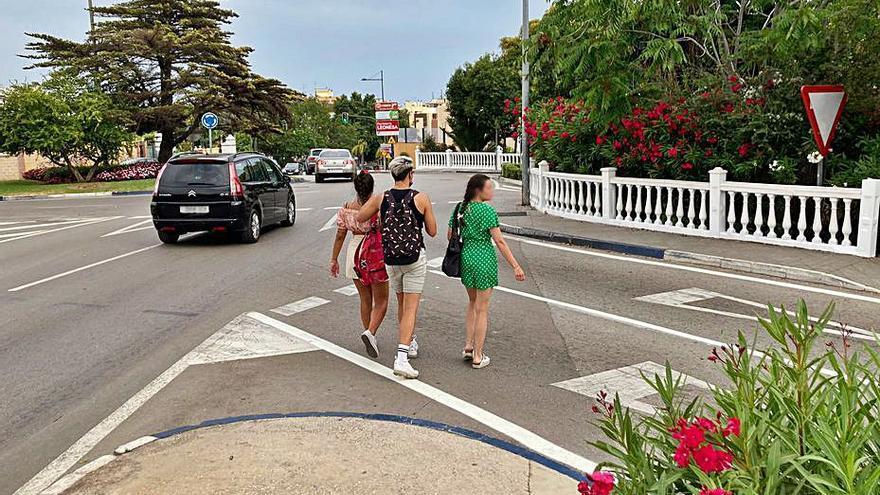 Piden mejoras en el tráfico en la zona de Trapiche del Prado