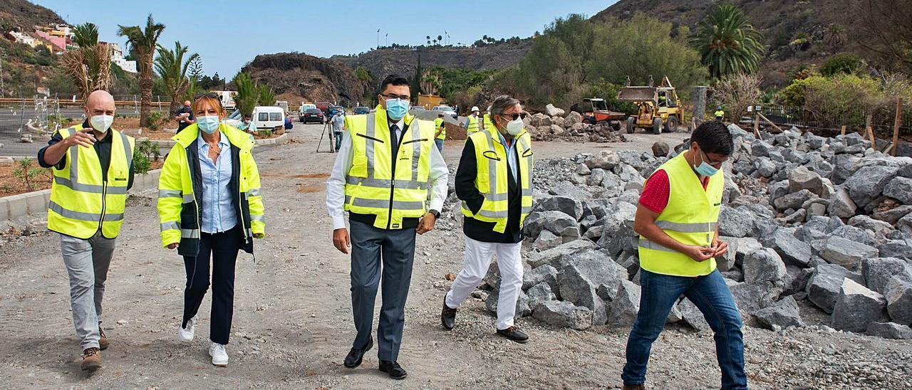 El Jardín Canario tendrá aparcamiento a final de año tras dos décadas de retrasos