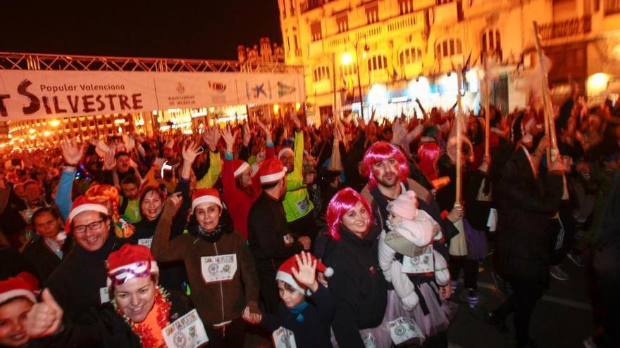 San Silvestre de València, Carnaval más Fallas